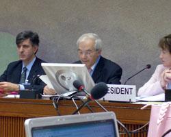 Aureli Argemí a l'ONU