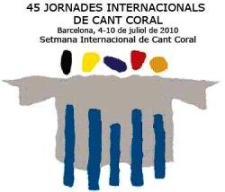 Logo 45 jornades internacionals de cant coral